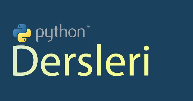 Python Dersleri