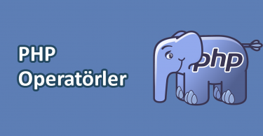 PHP Operatörler