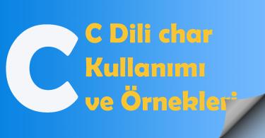 c dili örnekleri
