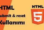 html buton kullanımı