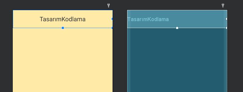 Android TextView Örnekleri