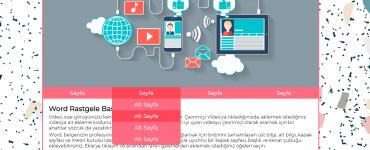 2021 - 2021 Web Programcılığı Staj Defteri Konuları
